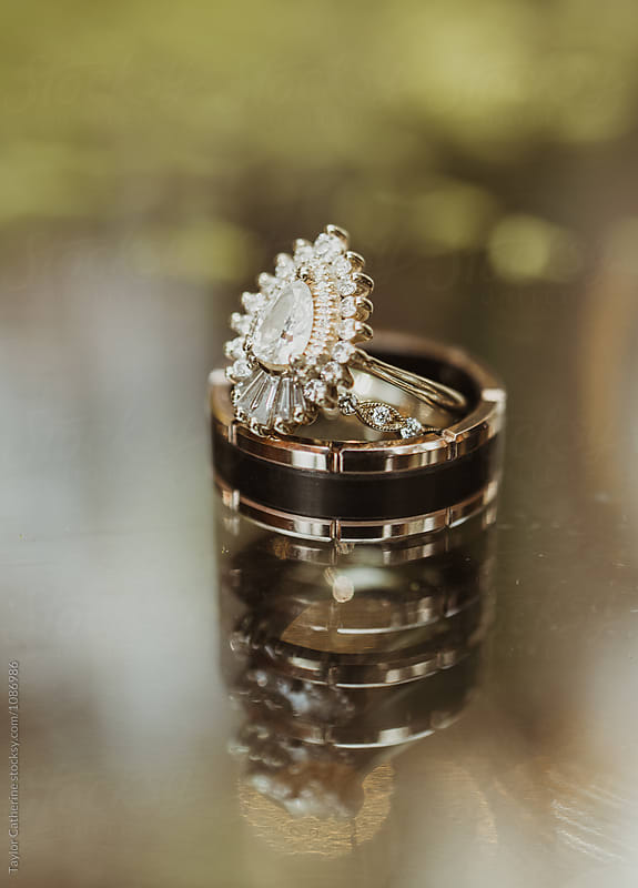 Wedding Rings by Isaiah & Taylor Photography for Stocksy United