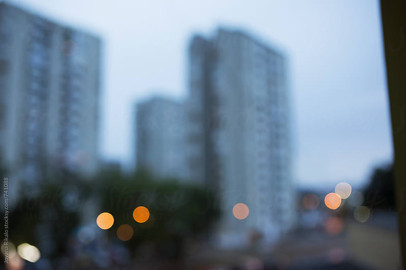 Defocused city lights by Jovana Rikalo for Stocksy United