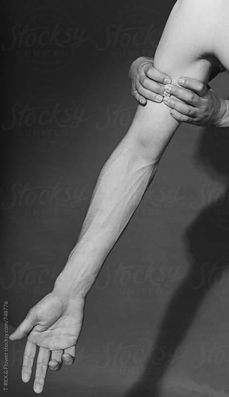 Man's arm with veins by T-REX & Flower for Stocksy United