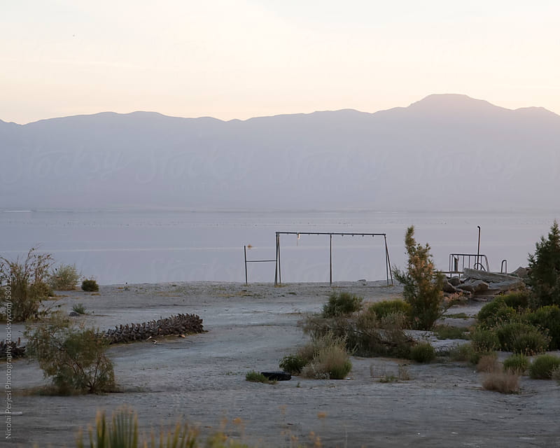 Salton Sea. by Nicolai Perjesi Photography for Stocksy United
