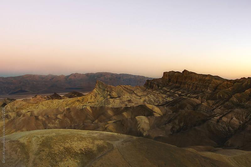 Death Valley Sunrise by Brian Koprowski for Stocksy United