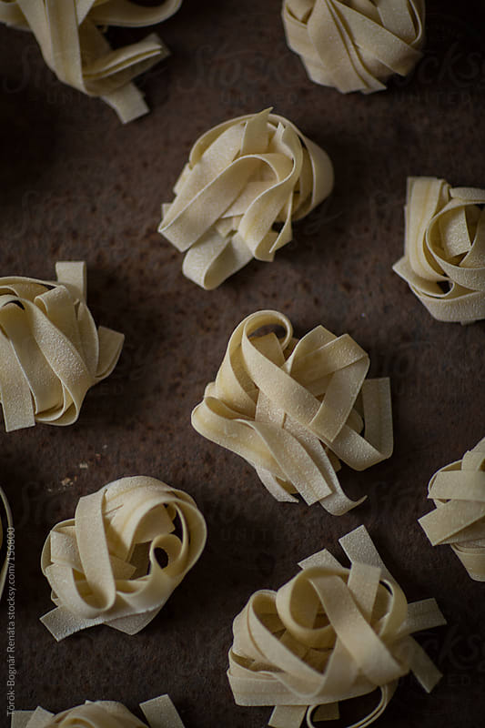 Pappardelle by Török-Bognár Renáta for Stocksy United