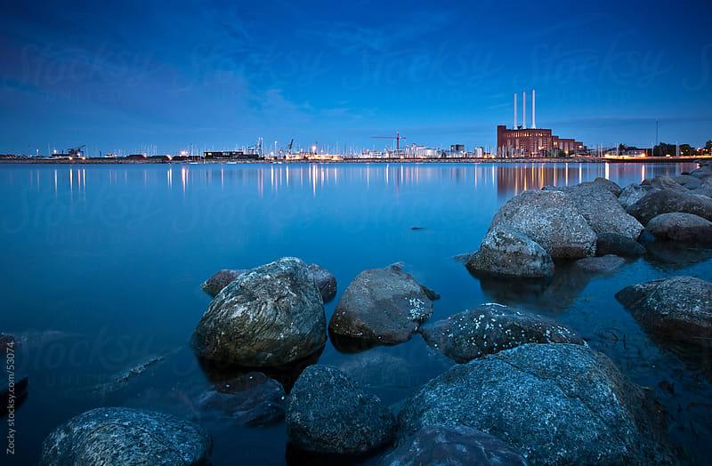 Copenhagen at night by Zocky for Stocksy United
