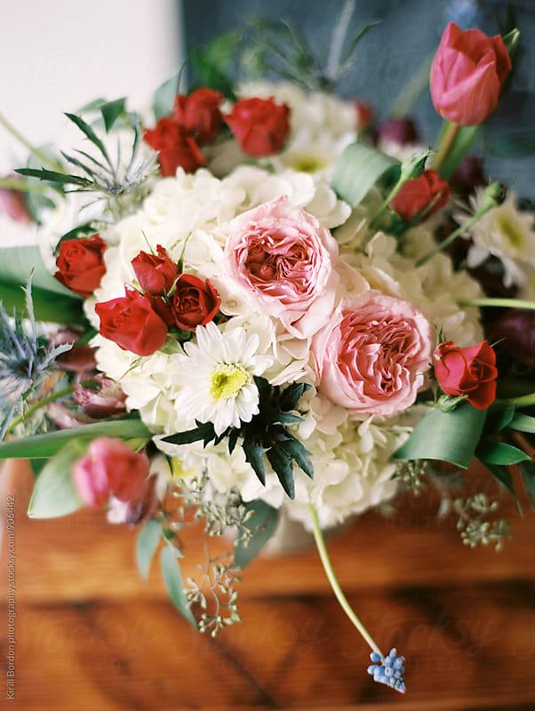 floral arrangemnet by Kirill Bordon photography for Stocksy United