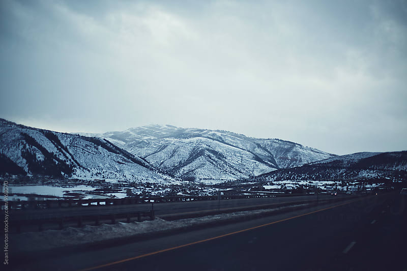 On the Road in CO by Sean Horton for Stocksy United
