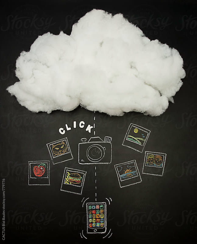 My cloud by CACTUS Blai Baules for Stocksy United