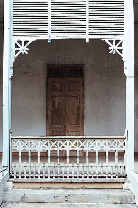 rustic corridor by jira Saki for Stocksy United