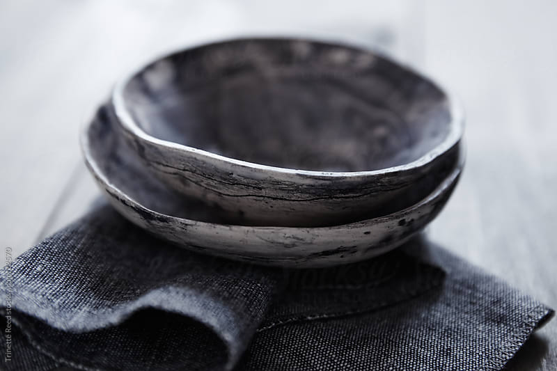 Wabi Sabi pottery bowls by Trinette Reed for Stocksy United