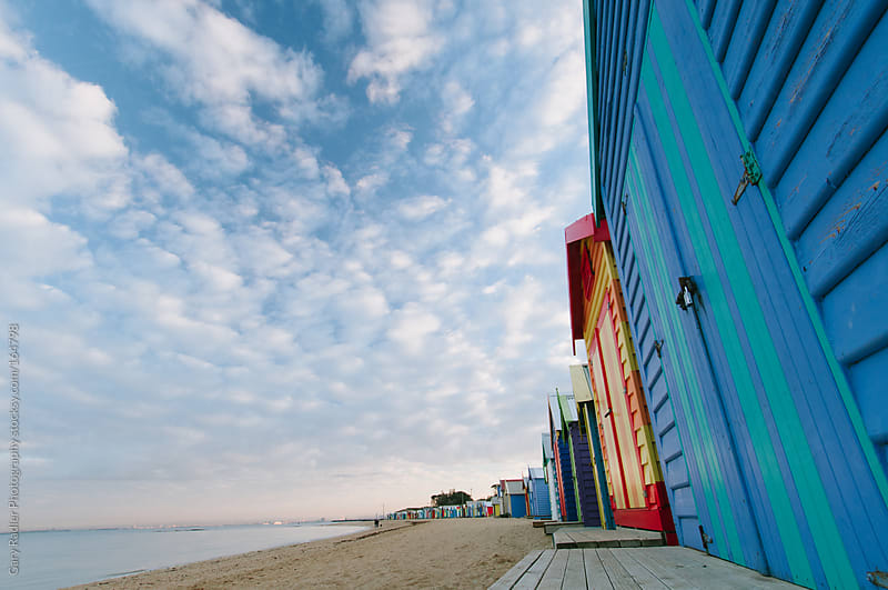 Brighton Bathing Boxes by Gary Radler Photography for Stocksy United