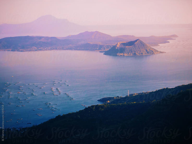 Taal Volcano in Tagaytay City, Philippines by B. Harvey for Stocksy United