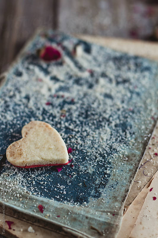 Heart shaped cookie by Tatjana Ristanic for Stocksy United