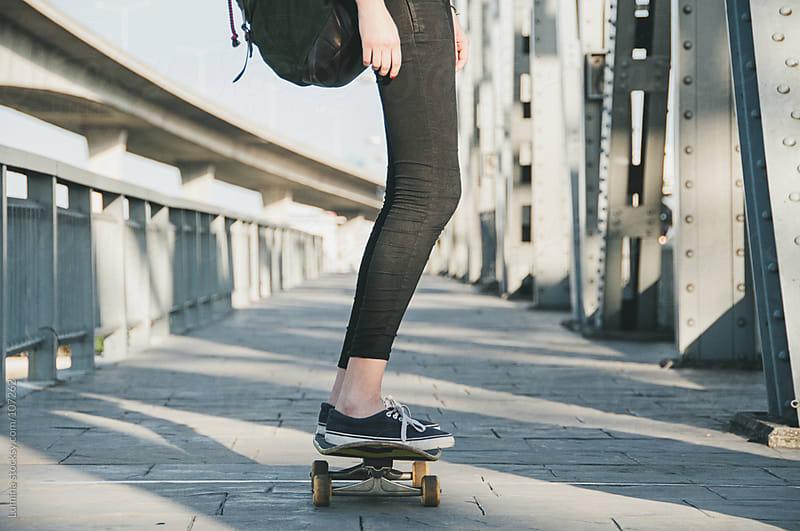 On the Skateboard by Lumina for Stocksy United