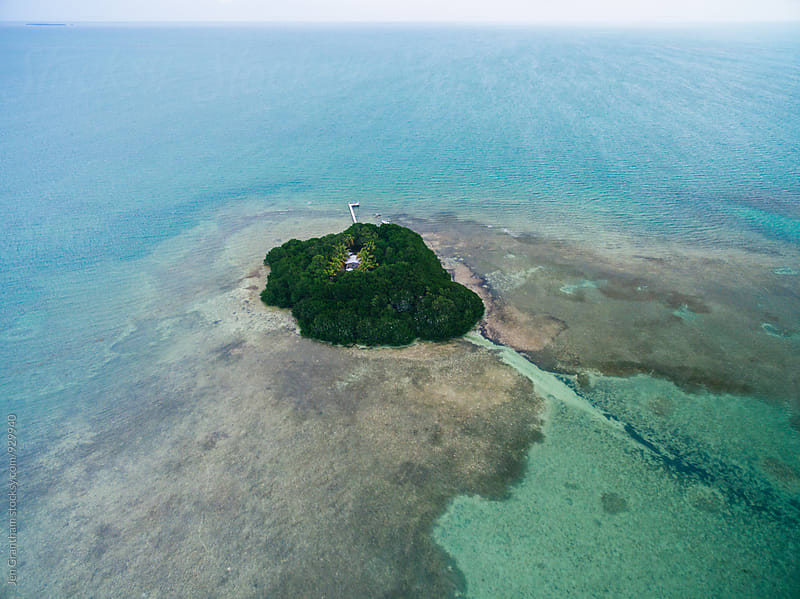 Private island in the Florida Keys by Jen Grantham for Stocksy United
