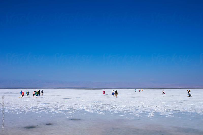 tourist in salt lake by Bo Bo for Stocksy United