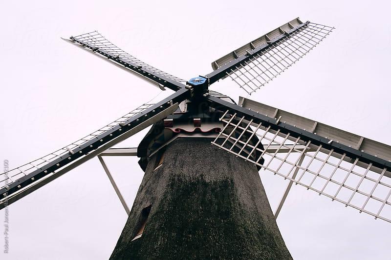 Windmill  by Robert-Paul Jansen for Stocksy United