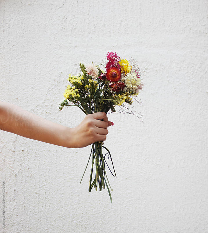 Wildflower bouquet by Jovana Rikalo for Stocksy United