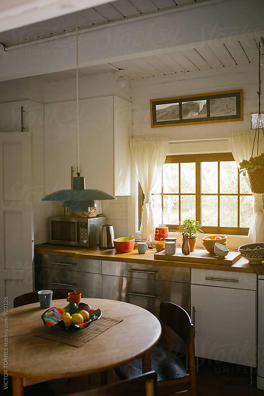 Rustic Kitchen  by Victor Torres for Stocksy United