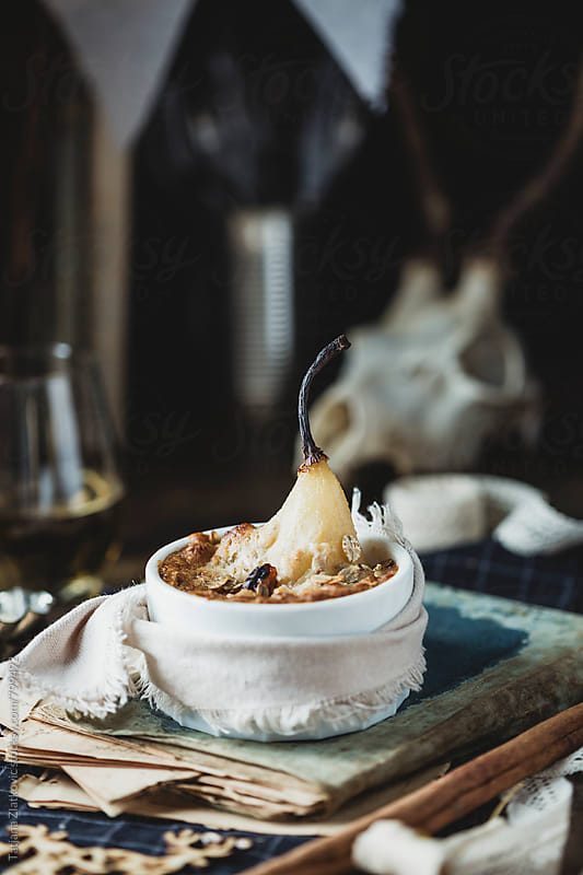 Pear crumble by Tatjana Ristanic for Stocksy United