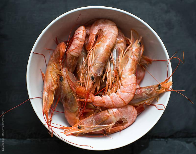 Fresh prawns by Davide Illini for Stocksy United