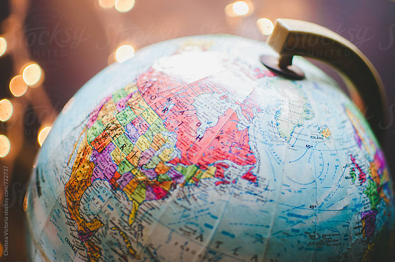 A globe of the world by Chelsea Victoria for Stocksy United