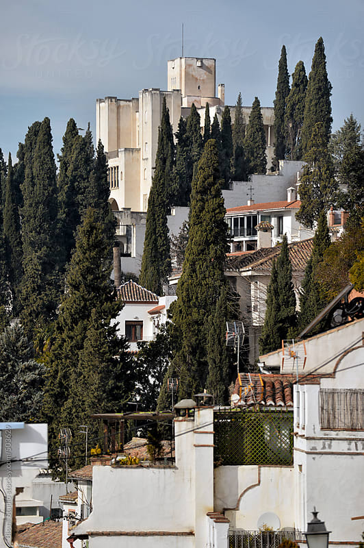 Views of Realejo neighborhood in the city of Granada by Bisual Studio for Stocksy United