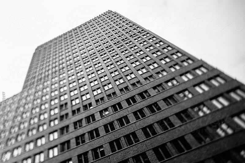 Black and White Skyscraper by Good Vibrations Images for Stocksy United
