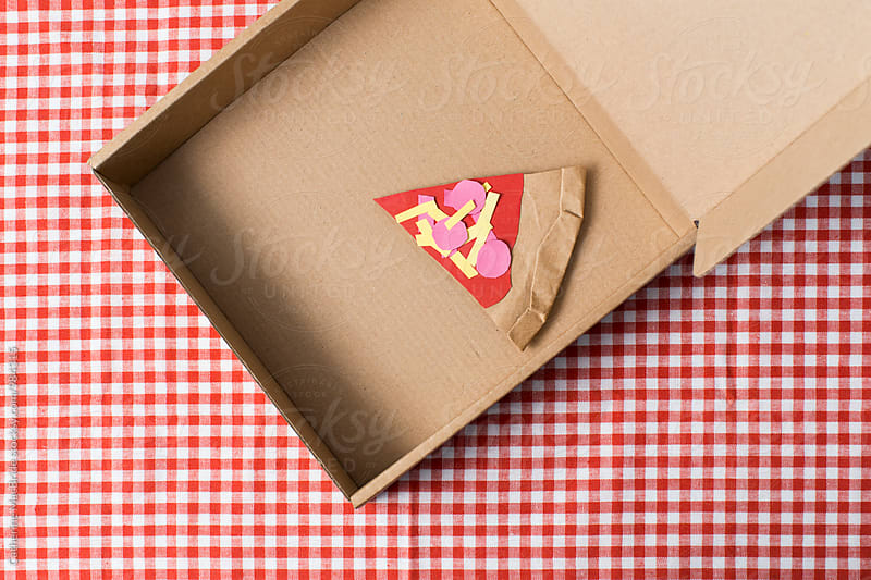 Paper Pizza... by Catherine MacBride for Stocksy United