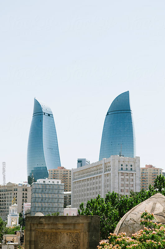 Skyline, Baku, Azerbaijan. by Thomas Pickard for Stocksy United