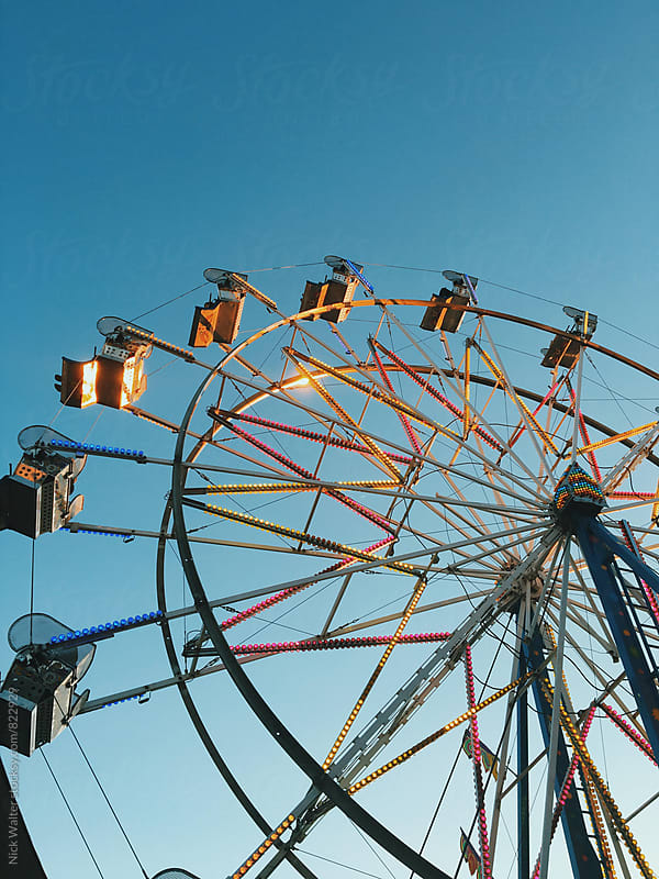 Ferris Wheel by Nick Walter for Stocksy United