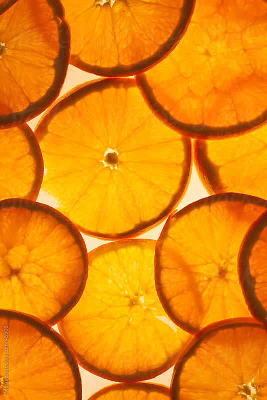 Orange slices. by Mosuno for Stocksy United