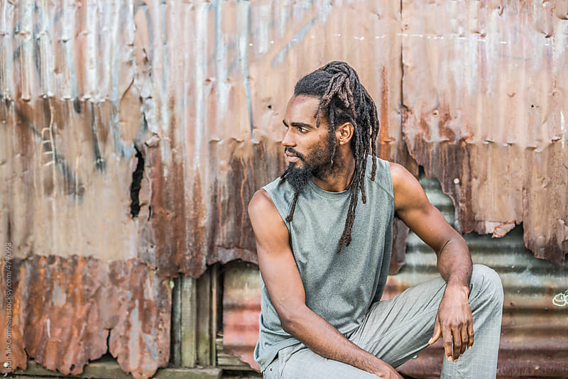 Jamaican Man With Dreadlocks by Ronnie Comeau for Stocksy United