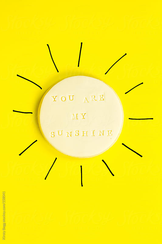 You are my sunshine cookie by Kirsty Begg for Stocksy United