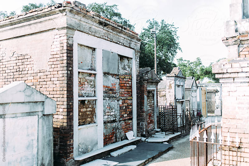 Tombs in New Orleans Cemetery by Christian Gideon for Stocksy United