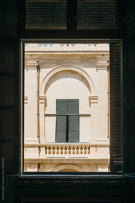 Window shutters by Sam Burton for Stocksy United