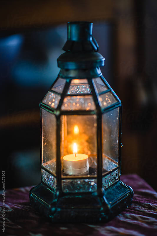Moroccan Style Lantern Lamp by Alexander Grabchilev for Stocksy United