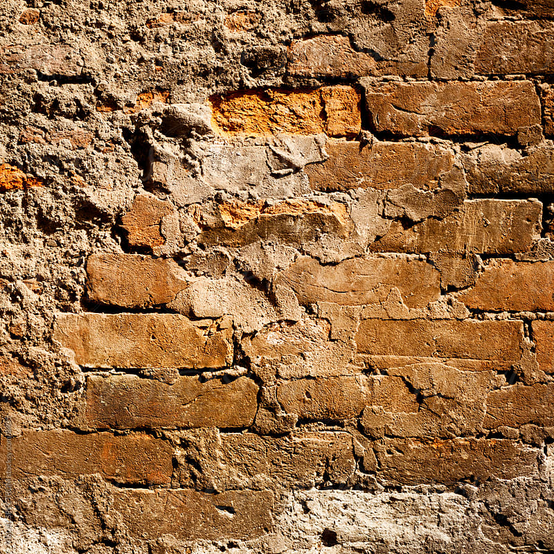 Vintage Brick Wall Background by Julien L. Balmer for Stocksy United