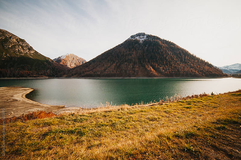 Lake of Livigno - Italy by Giada Canu for Stocksy United