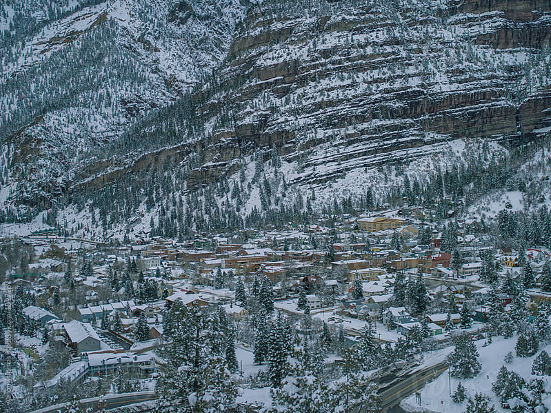 Town of Ouray by Aaron Thomas for Stocksy United