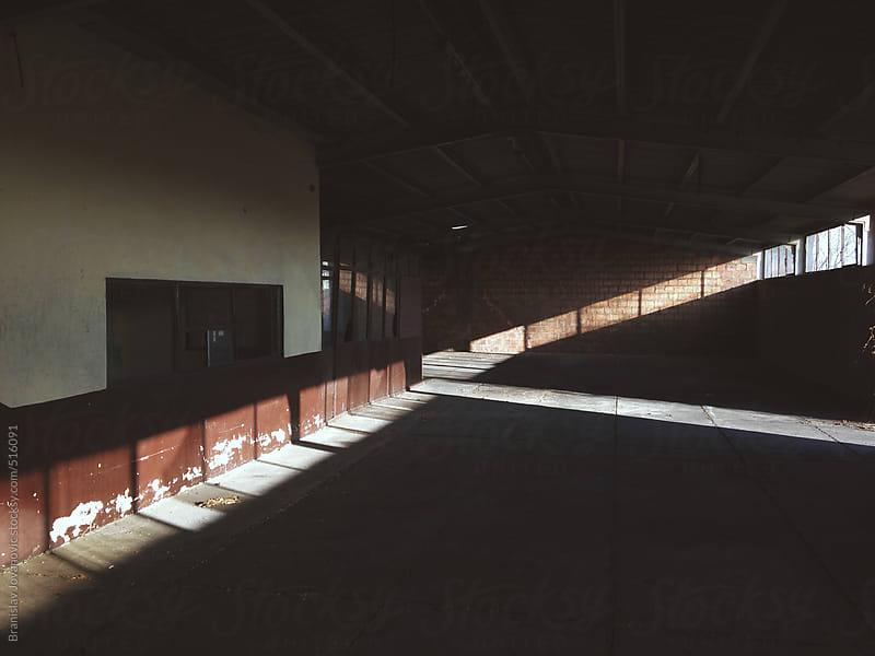 Interior of an abandoned factory by Branislav Jovanović for Stocksy United