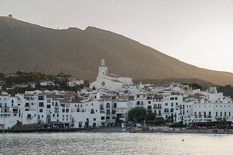 Cadaques at sunset by Marilar Irastorza for Stocksy United