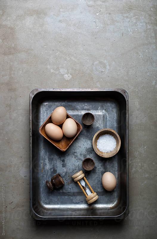 Eggs for breakfast. by Darren Muir for Stocksy United