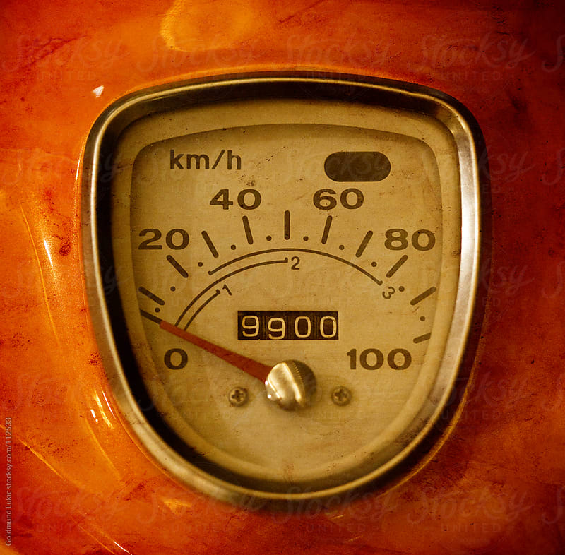 Old-Timer Speedometer by Goldmund Lukic for Stocksy United