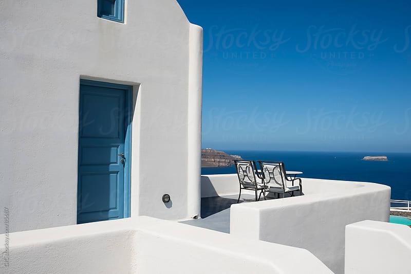 Villa in Santorini by GIC for Stocksy United