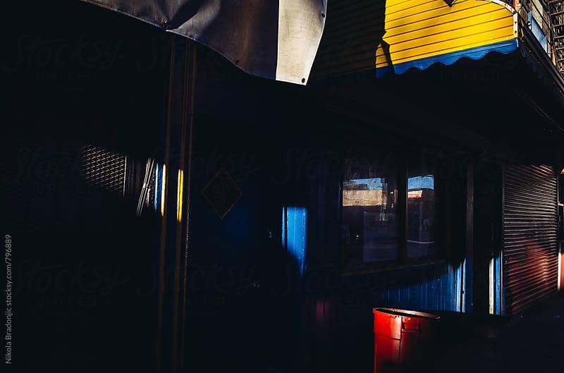 Light, shadows and colors by Nikola Bradonjic for Stocksy United