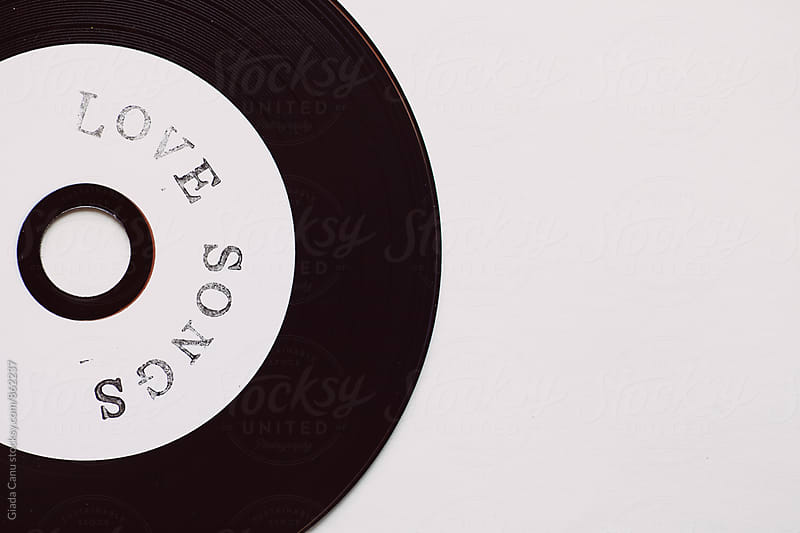 Love songs on cd by Giada Canu for Stocksy United