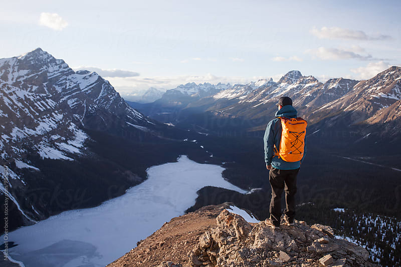 Peyto Lake by Michael Overbeck Photography for Stocksy United