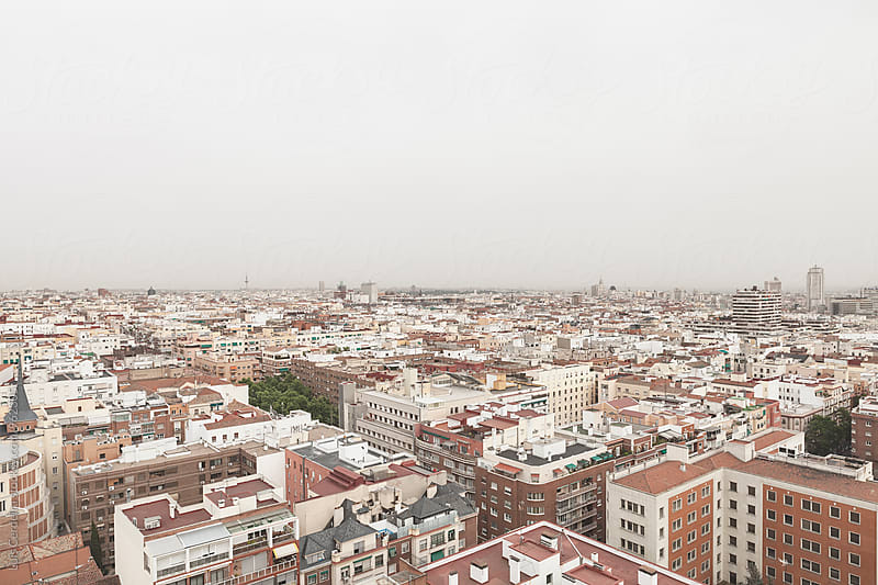 Madrid view by Luis Cerdeira for Stocksy United