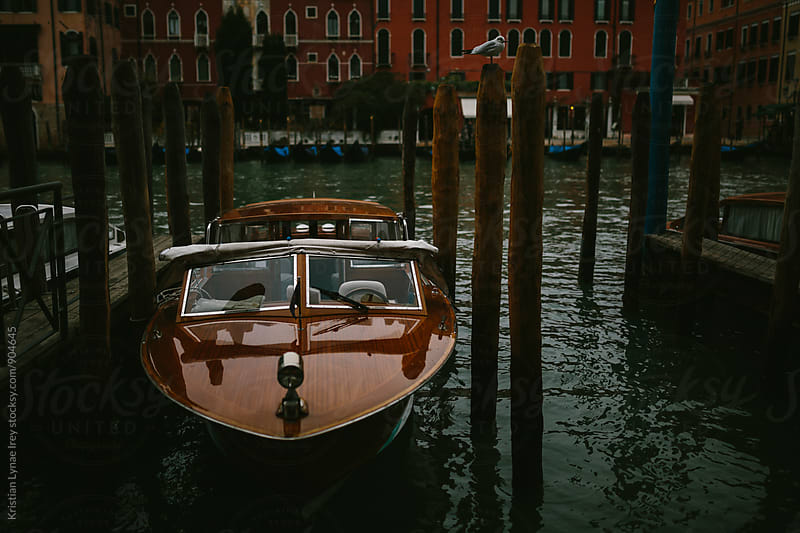 Venice Boat by Kristian Lynae Irey for Stocksy United
