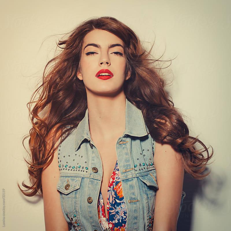 Fashion Model Posing by Lumina for Stocksy United