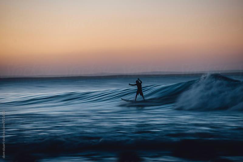 Surfer by dom stuart for Stocksy United